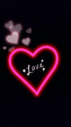 Love Pink Wallpaper, Love Wallpaper Backgrounds, Wallpaper Iphone Neon, Name Wallpaper, Heart Wallpaper, Galaxy Wallpaper, Love Heart Images, I Love You Pictures, Beautiful Love Pictures