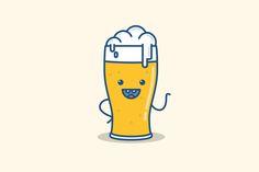 Vector illustration beer by KULISTOV on Creative Market