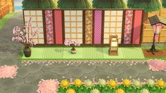 Animal Crossing Wild World, Animal Crossing Game, Zen Rock Garden, Ac New Leaf, Island Theme, Happy Home Designer, Pixel Design, Animal Crossing Qr Codes Clothes, Bohemian House