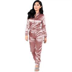 Newest addition to our catalogue Pink, Women's Cas...  Follow Link http://sexyheksie.myshopify.com/products/womens-casual-long-sleeve-top-pants-set-m-wn50168-2?utm_campaign=social_autopilot&utm_source=pin&utm_medium=pin