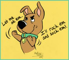 Little things with big personalities Scrappy-Doo. Puppy Power!