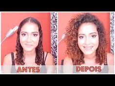 Cachos com RAIZ VOLUMOSA e SEM DIVISÃO | Mari Morena - YouTube