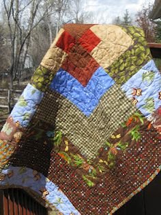 Barb shared a couple quilts she quilted! Thanks Barb!