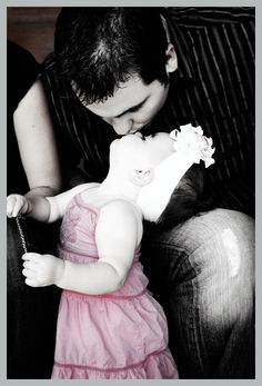 I want a picture just like this with my husband and our little princess