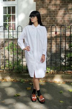 Classic White Shirt Dress  http://www.thewhitepepper.com/collections/dresses/products/classic-white-shirt-dress