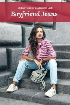 Cool, cooler, Boyfriend Jeans! So stylt ihr den lässigen Look mit der lockeren Denim!