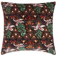Klaus Haapaniemi Moonflower cushion cover 50 x 50 cm, velvet Scandinavian Living, Nordic Design, Home Textile, House Design, Design Shop, Cushion Covers, Moonflower, Really Cool Stuff, Branding Design
