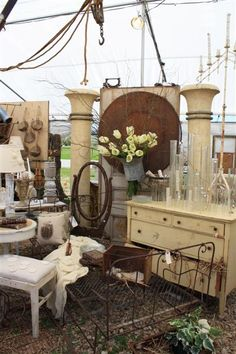 Round Top Antiques Fair - Texas