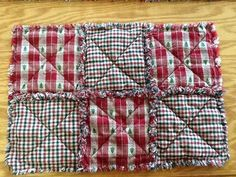Hey, I found this really awesome Etsy listing at https://www.etsy.com/listing/169089592/tree-homespun-rag-quilt-style-placemats