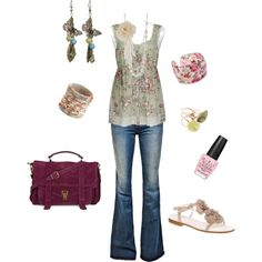 Mary Claire, created by medeak on Polyvore