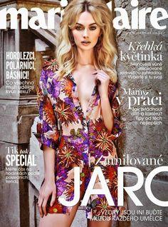 Niki Hadju for Marie Claire Czech May 2015