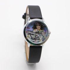 1pcs fashion Violetta Watches Children Kids girl Boys gift Minions Watch Casual Quartz Wristwatch Relogio Relojes