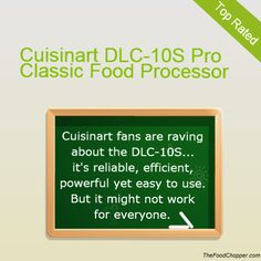 Cuisinart DLC-10S Pro Classic Food Processor Review
