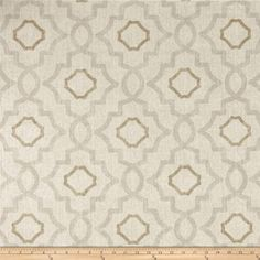 Magnolia Home Fashions Talbot Mist from @fabricdotcom  Screen printed on cotton duck; this versatile, medium weight fabric is perfect for window accents (draperies, valances, curtains and swags), accent pillows, duvet covers, upholstery and other home decor accents. Create handbags, tote bags, aprons and more. Colors include beige, brown and cream.