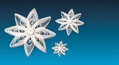 QUILLING Star 22 - The Star of Skive