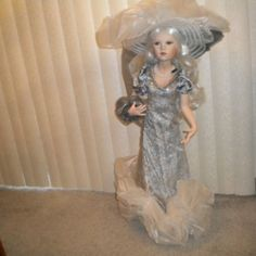 Fog from Ute Kase Lepp Collection Beautiful Porcelain Doll Approx 30 inch Tall | eBay