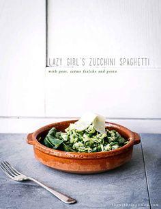 You don't need any fancy equipment to make pasta-free zucchini spaghetti.