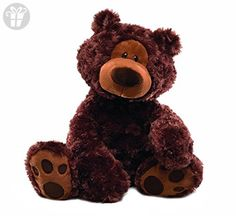 GUND Philbin Chocolate Teddy Bear Stuffed Animal, 18 inches (*Amazon Partner-Link)
