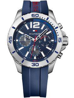 Pánske hodinky Tommy Hilfiger Nolan Cool Sport 1791142 majú minerálne sklíčko a remienok/náramok z materiálu kaučuk, silikón, plast. Púzdro hodiniek Tommy Hilfiger Nolan Cool Sport 1791142 je z materiálu oceľ. Pánske hodinky Tommy Hilfiger Nolan Cool Sport 1791142 majú funkcie: stopky / chronograf, dátum, luminiscenčné indexy. Vodotesnosť je 5 ATM / 50 m.