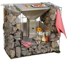 1000 images about grillen und outdoor on pinterest garten basteln and garden bar. Black Bedroom Furniture Sets. Home Design Ideas