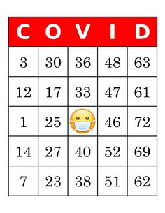 Bingo Cards 1000 cards 1 per page COVID bingo immediate Bingo Cards To Print, Custom Bingo Cards, Free Printable Bingo Cards, Free Printables, Bingo Card Maker, Blank Bingo Board, Bingo Cage, Bingo Party, Early Education