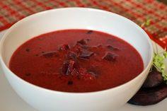 Zupa z pieczonych buraków Thai Red Curry, Ethnic Recipes, Food, Essen, Meals, Yemek, Eten