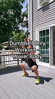 Gym Workout For Beginners, Gym Workout Tips, Fitness Workout For Women, Workout Videos, At Home Workouts, Butt Workouts, Stairs Workout, Bridge Workout, Dumbbell Only Workout