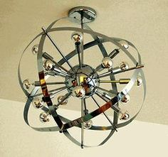 Atomic Age Chandelier