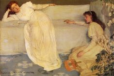 Symphony in White, No. 3 (James Abbott McNeill Whistler - 1867)