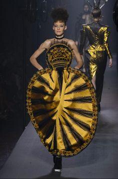 Défilé Jean Paul Gaultier automne-hiver 2015-2016, Paris