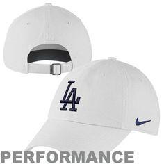 dfd63bc8f4a Nike L.A. Dodgers Ladies Stadium 3.0 Dri-FIT Adjustable Hat – White Dodger  Hats