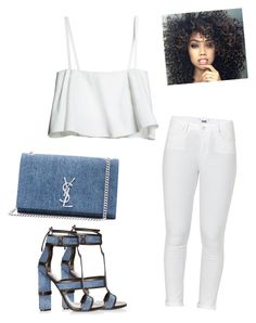 Untitled #424 by adsmith2321 on Polyvore featuring polyvore, fashion, style, Paige Denim, Tom Ford, Yves Saint Laurent and clothing