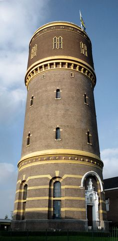 Tilburg Travel and City Guide - Netherlands Tourism Netherlands Tourism, Dazzle Camouflage, Tower Of Power, Beacon Lighting, Building Art, Beautiful Castles, Water Tower, Water Tank, Windmill