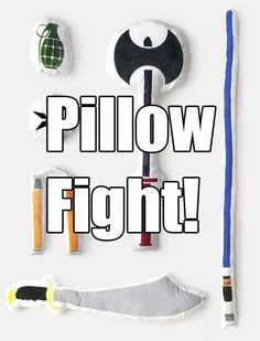 Um, yes. No doubt that there are hours of fun (without electronics!) with these awesome pillows alone.