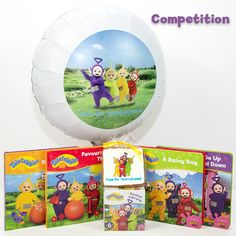 Win our brand new Teletubbies books plus a balloon and a cookie in this week's competition!