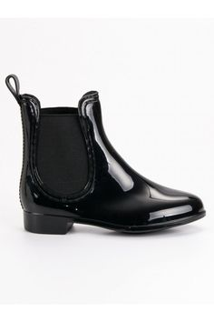 Čierne gumáky pre dievčatá CnB Chelsea Boots, Tommy Hilfiger, Adidas, Ankle, Shoes, Fashion, Moda, Zapatos, Wall Plug