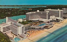 Miami Florida was a pretty place to see, the ocean was very blue! My mom, aunt, and I went to the Fountain Blue, there was six restaurants, a spa, and about ten pools! Our hotel had a pool outside and a couple feet ahead was the beach!