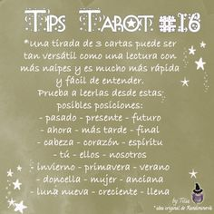 Tarot Tips 16 | Tilia's Blog