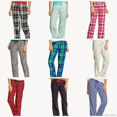 Fashion Friday: Cute and Comfy Pajamas from Old Navy via The Joyful Home