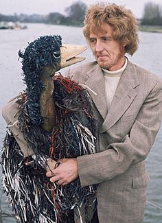 Emu and Rod Hull. We had one of these & my brother used to terrorize us with it!