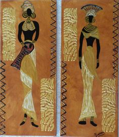29 New Women Painting Wall - African Wall Art, African American Artwork, African Art Paintings, European Paintings, Black Women Art, Black Art, Modern Art, Contemporary Art, Mosaic Pictures