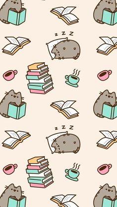 Wallpaper Gatos, Cat Wallpaper, Kawaii Wallpaper, Cute Wallpaper Backgrounds, Cute Cartoon Wallpapers, Disney Wallpaper, Iphone Wallpaper, Screen Wallpaper, Wallpaper Quotes