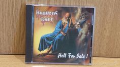 HEAVENS GATE. HELL FOR SALE. CD / STEAMHAMMER - 1992 / BUENA CALIDAD.