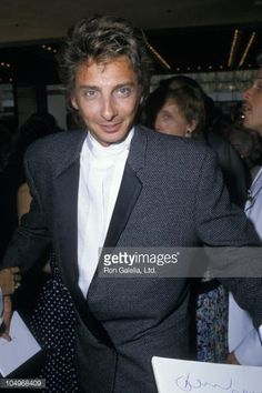 """barry manilow 1980   Les Miserables"""" Los Angeles Opening - June 1, 1988   Getty Images"""