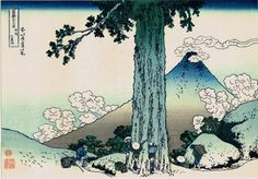 Japanese Ukiyo-e Woodblock print Katsushika by UkiyoeCosmosPlus