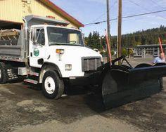 2000 #Freightliner FL80 dump #truck in Pacific, WA