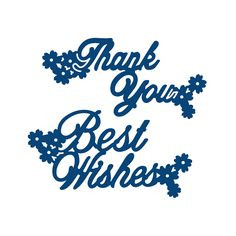 Product – Interlocking Thank You & Best Wishes (D043) | Tattered Lace