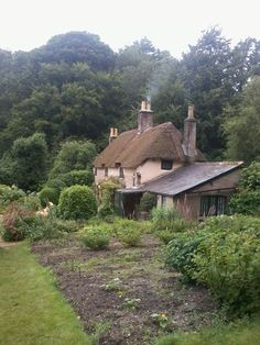 Cottages:  #Cottage, Thomas Hardy's birthplace, Lower Bockhampton, Dorset, England.