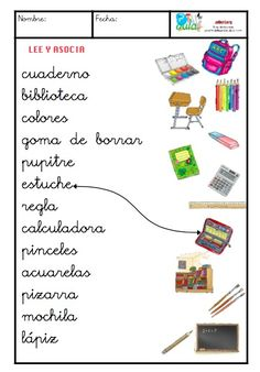 material escolar minúscula Spanish Teacher, Teaching Spanish, Spanish Lessons, Spanish Class, Speech Language Therapy, Speech And Language, Learn Spanish Online, Spanish Immersion, Elementary Spanish