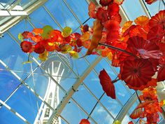 Chihuly Garden and Glass at the Space Needle in Seattle